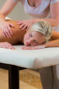 Klassische Rückenmassage